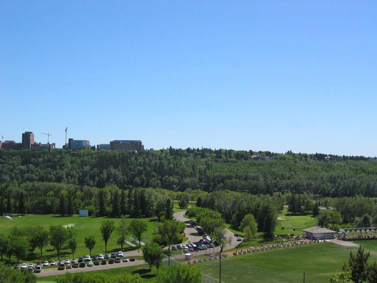 View of campus Edmonton Alberta