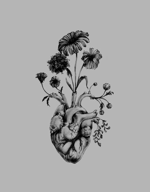 nature heart   Scary/Creepy/Uncanny   Pinterest   Flower, Heart and ...