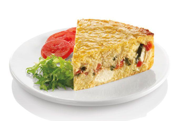Torta de Elote salada