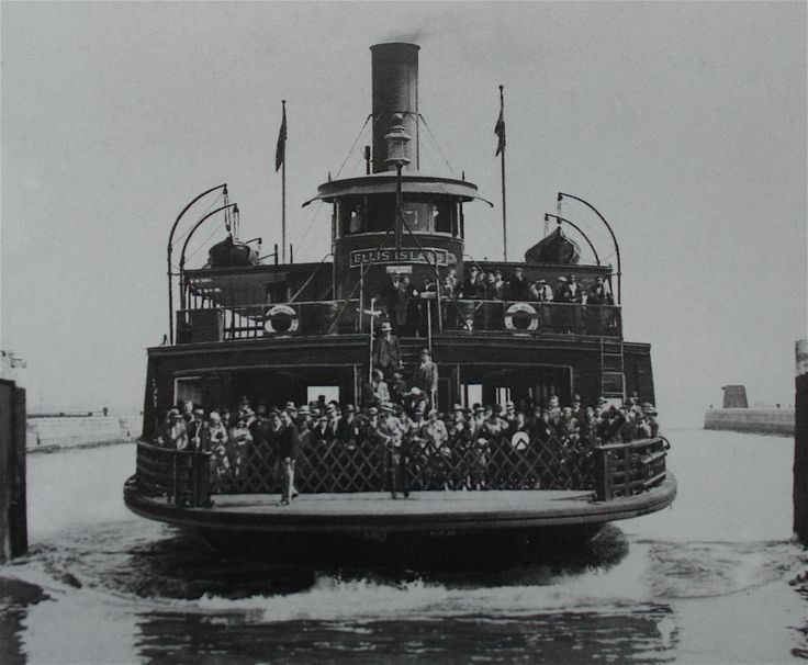 The Ellis ISland Ferry served Ellis Island from 1904 to 1954. During that time it is estimated that it carried over 15,000,000 staff, immigrants and visitors from Ellis Island to Manhattan and back.