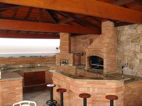 Áreas de churrasco decoradas + 10 tipos de churrasqueiras! - Decor Salteado - Blog de Decoração e Arquitetura