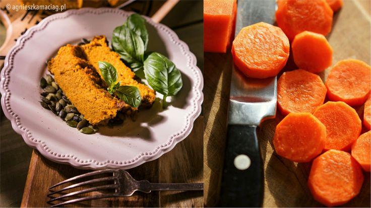 Pyszny bezglutenowy i wegetariański pasztet z pieczonej marchewki z imbirem