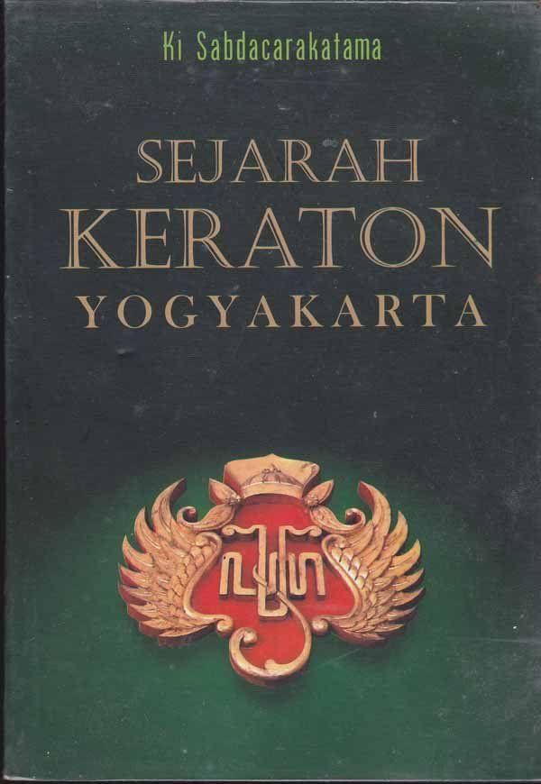 """Sejarah Kraton Yogyakarta"" Ki Sabdacarakatama #buku #sewabuku #perpustakaan"