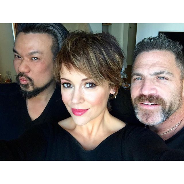 My glam squad for my #AtkinsNow press: @LinhHair @scottpatric @stylistjenrade @deborabair