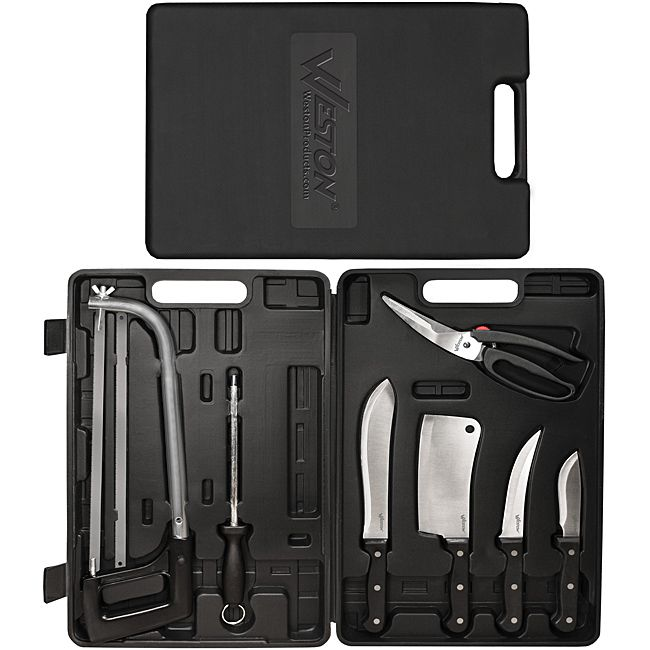 Weston 10-piece Game Processing Knife Set | Overstock.com Shopping - The Best Deals on Hunting Knives