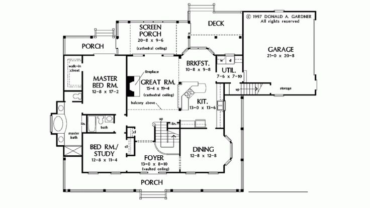 37 best house plans under 2500sq ft images on pinterest for Family home plans 82230