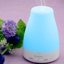 Mother's Day Special! $20.99 Aromatherapy Essential Oil Diffuser  7 colors - 120 ml Portable Ultrasonic Cool Mist Aroma Humidifier with changing Colored LED Lights, Waterless Auto Shut-off and Adjustable Mist mode