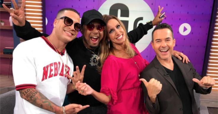 Yomil y El Dany en El Gordo y La Flaca (FOTOS + VIDEOS) #Farándula #cantantes #cubanos #reguetoneros #YomilyElDany