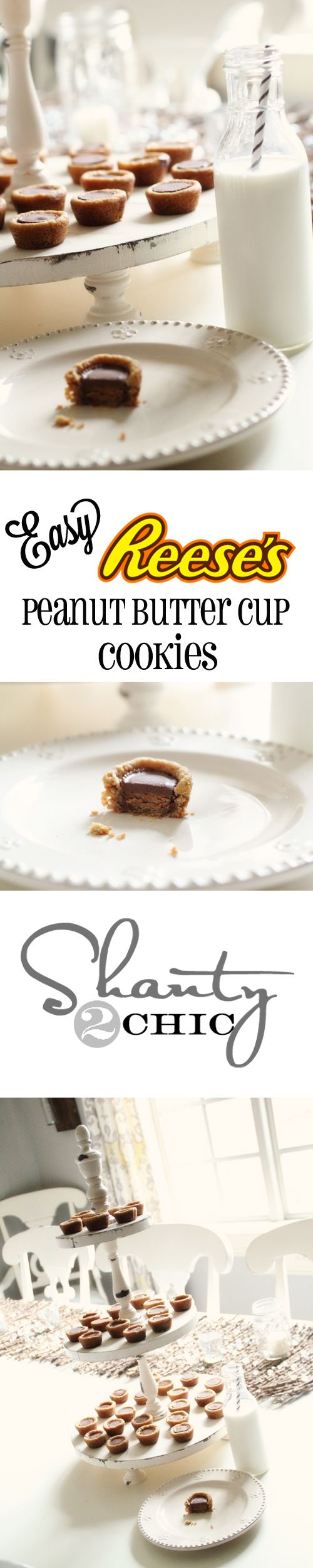 Easy Reese's Peanut Butter Cup Cookies