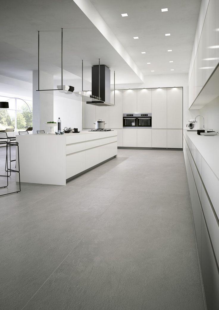 Moderni keittiö laatat ABL-Laatat #kitchen #modernkitchen #scandinaviansimple #tiles #abllaatat