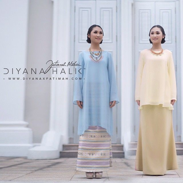 Stay comfortable & elegant with our Chiffon baju kurung/kedah this Lebaran.  Log on now to www.diyanaxfatimah.com to place your orders. Prices from RM238-RM298. We ship directly to Singapore.  #DiyanaXFatimah #DiyanaHalik #FatimahMohsin #DHXFM #onlineshopping #shop #readytowear #eidcollection #rayacollection #hariraya #festiveseason.