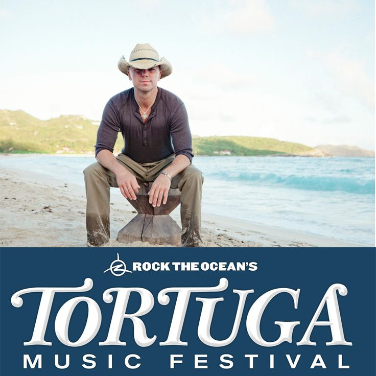 Tortuga Music Festival - with Kenny Chesney as the event headliner, on April 13th & 14th, Fort Lauderdale Beach will host Rock the Ocean's inaugural Tortuga Music Festival.