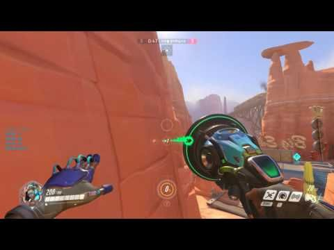 VJ Troll's game video: (Overwatch) Lucio Wall Ride Movie. (오버워치)루시우 벽타기 모...