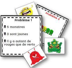 Les jeux dEilathan - La classe de Mallory Problèmes simples avec voca (autant, plus que...)