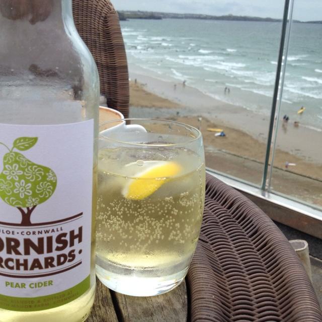 Cornish cider in Cornwall