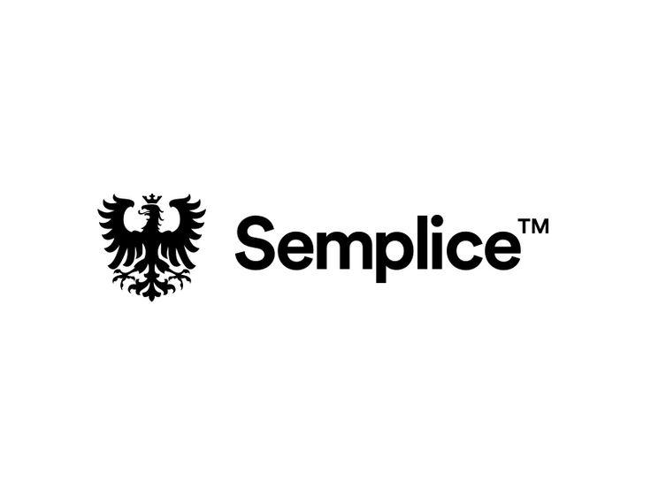 Semplice by Tobias van Schneider #logo #mark #brand #eagle #app