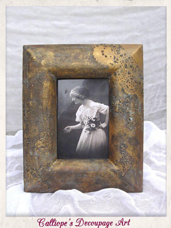 Κορνίζες | Επιτραπέζια Διακόσμηση | Calliope's Decoupage Art
