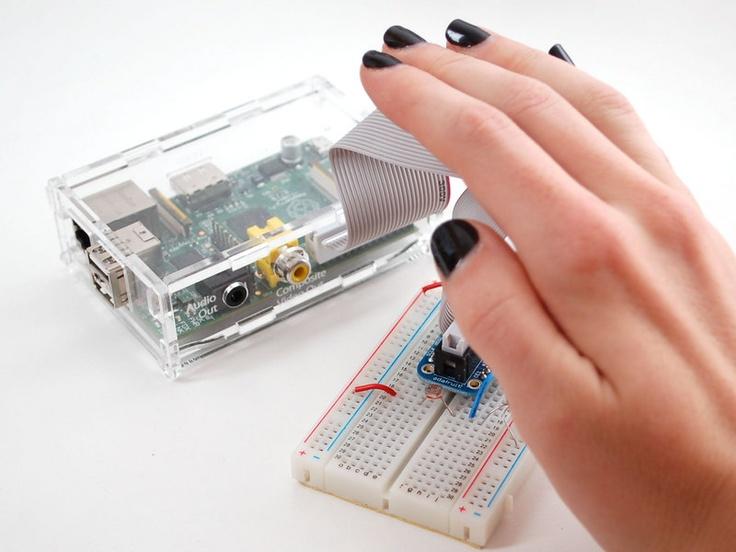 Reading analog sensors with the Raspberry Pi