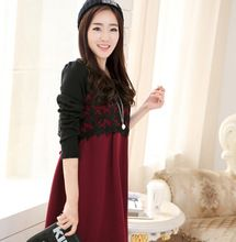 Like and Share if you want this  Lace Color Block Autumn Maternity Dresses with Side Ties Elegant Winter Clothes for Pregnant Women Pregnancy Clothing     Tag a friend who would love this!     FREE Shipping Worldwide     Get it here ---> http://oneclickmarket.co.uk/products/lace-color-block-autumn-maternity-dresses-with-side-ties-elegant-winter-clothes-for-pregnant-women-pregnancy-clothing/