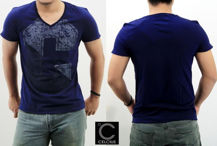 New Arrivals guys.....  Celcius T-Shirt  Color : Grey, Purple, Blue Size: S, M, L, XL