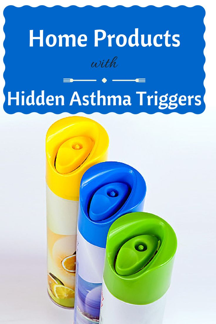 #Asthma triggers in your home