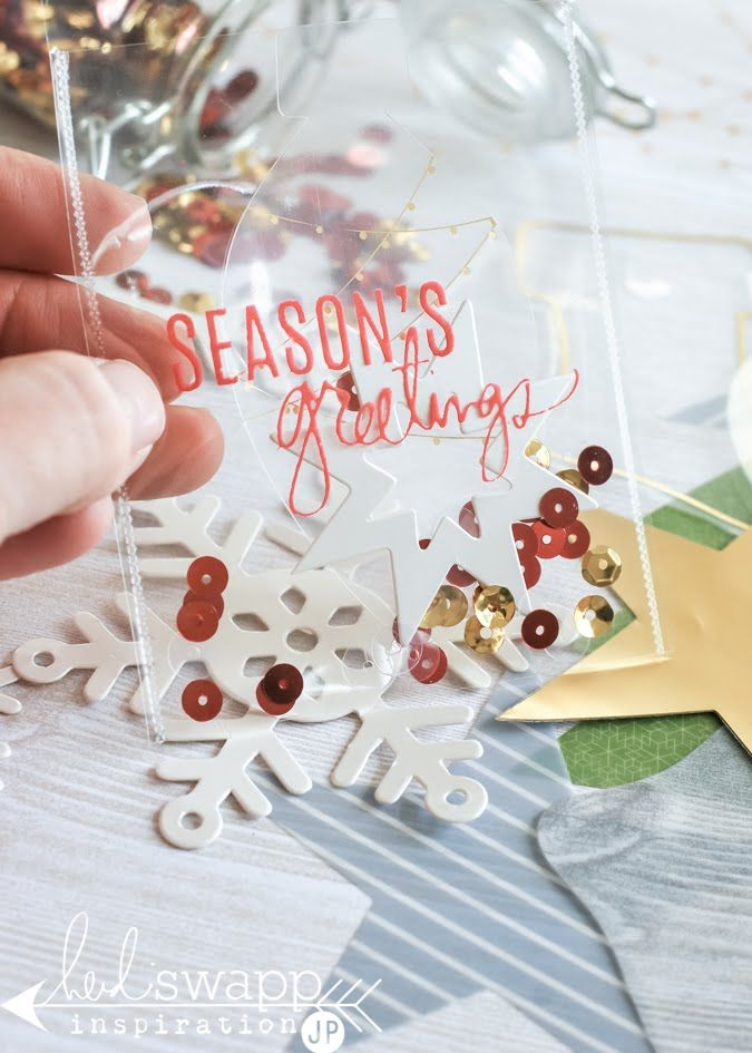 Layer up tags for giving with Heidi Swapp Oh What Fun Collection | @jameipate for @HeidiSwapp
