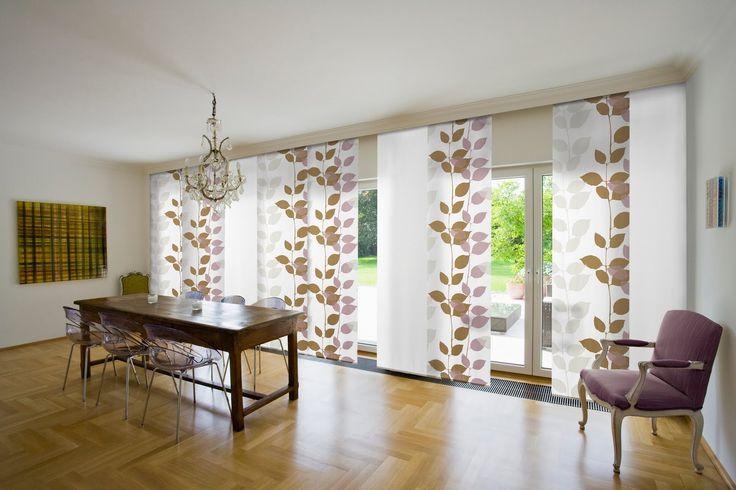 La belleza de las cortinas estampadas - http://www.decoluxe.net/la-belleza-de-las-cortinas-estampadas/