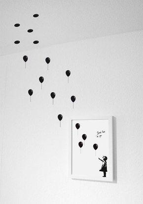 Diy Home: Lass es einfach gehen / Artprint – Wandsticker …