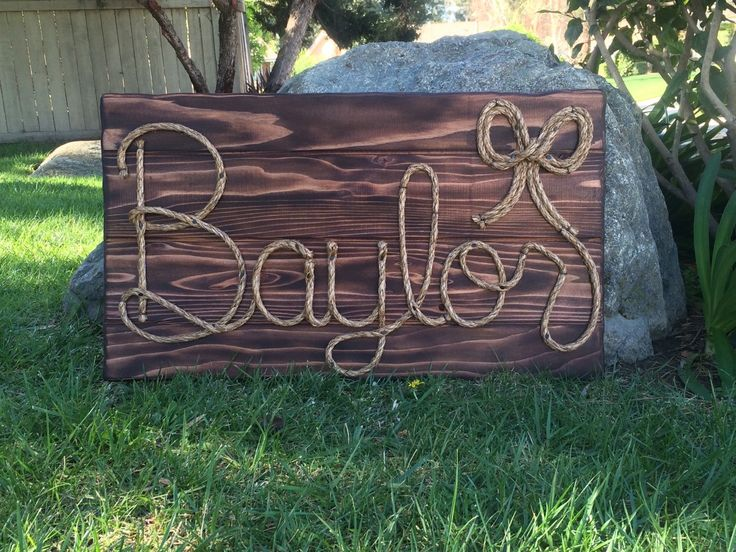 "32"" Rope name sign western decor baby shower,country wedding,western nursery,cowgirl theme, country decorations,photo prop,western party by RiverChicksBoutique on Etsy https://www.etsy.com/listing/230298477/32-rope-name-sign-western-decor-baby"