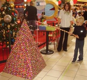 Christmas Carnival Ideas Candy cane fishing