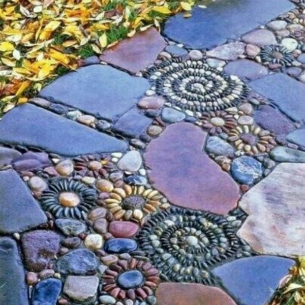 167 best Garten - Pebble Mosaic images on Pinterest Live, Garden - mein garten rtl