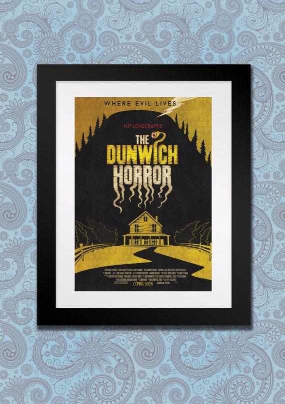 The Dunwich Horror H.P Lovecraft  Digital Print Film