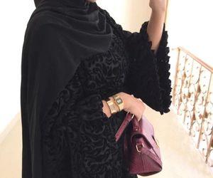 Black Velvet | Abaya