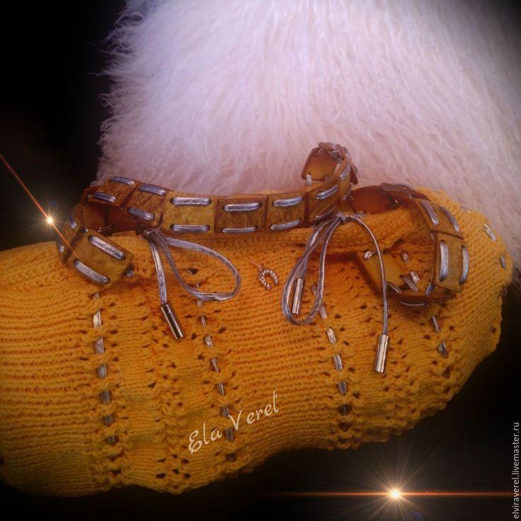Купить Вязаная сумка ''МАЙСКИЙ МЕДОК- Бохо'' - желтый, яркая сумка, оригинальная сумка