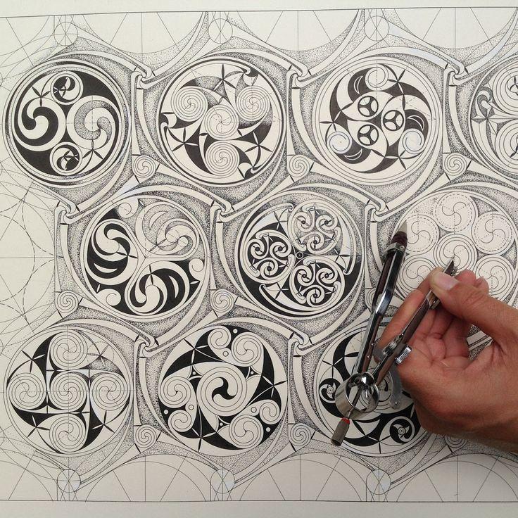 The other zelij...Celtic patterns.