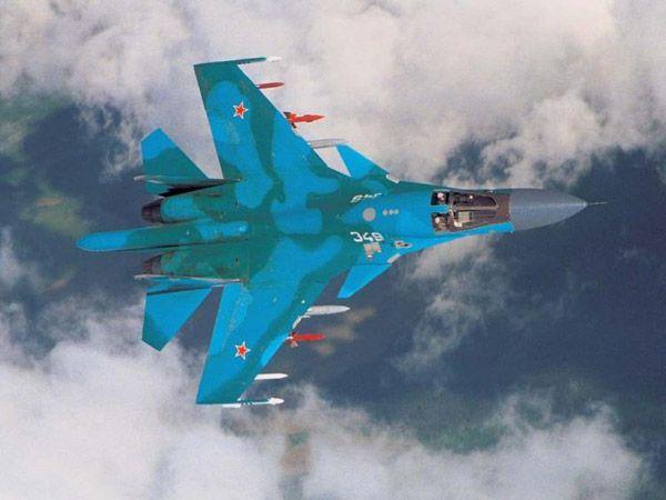 Sukhoi Su-34 Fullback Су-34 - вид сверху