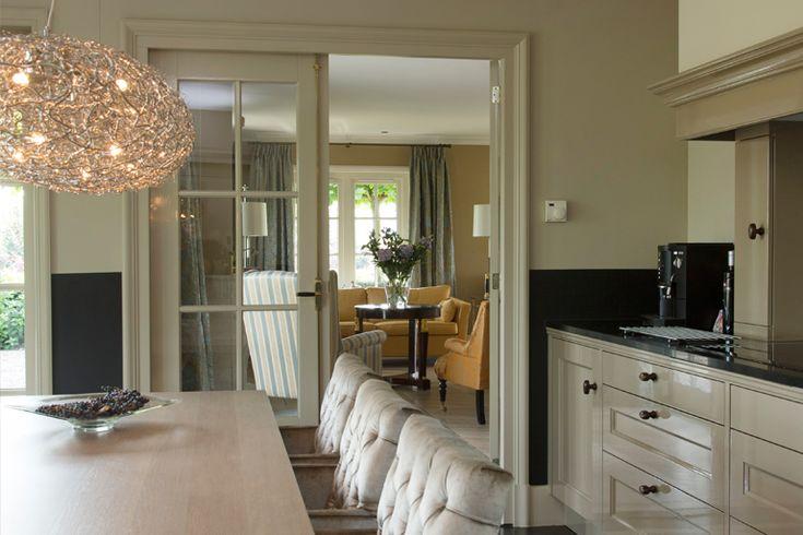 Landelijke keuken op maat, Diez stoelen  - Doornebal Interiors