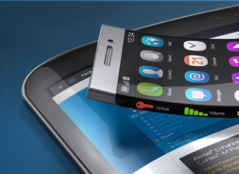 A company called Atmel has begun flogging XSense, their new ultra-thin touchscreen technology that's capable of bending and going just about full-bleed