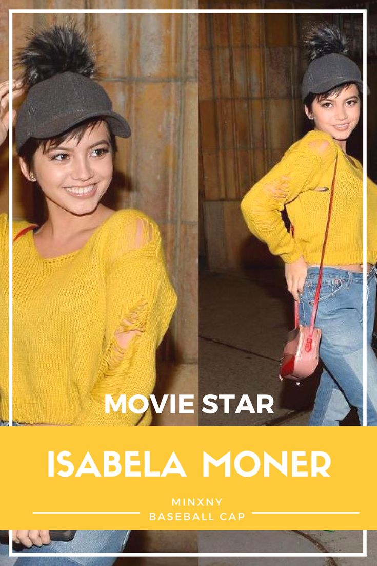 Celebrity sighting alert! ISABELA MONER from Transformers - The Last Knight was spotted in NYC wearing MinxNY`s Baseball Cap. Shop Isabela Moner`s look now!