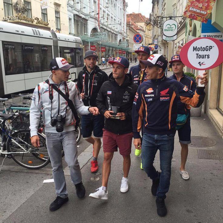 Marc Marquez, Sandro Cortese, Stefan Bradl, Brad Binder, Jonas Folger & Bo Bendsneyder