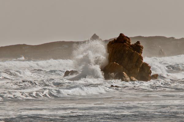 """Roaring Forties batter the """"Edge of the World"""" on the west and north west coasts of Tasmania. Article and photo by Carol Haberle for www.think-tasmania.com"""