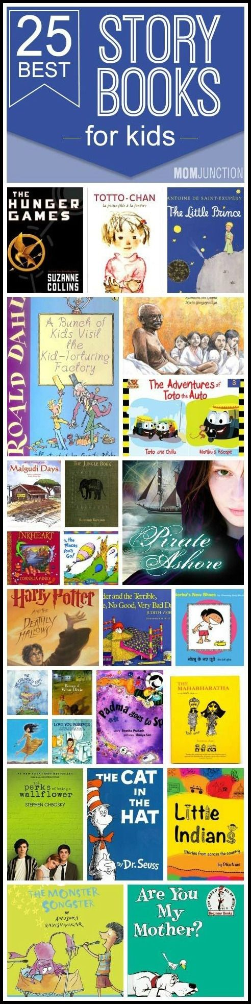 Story Books For Kids: Here we are to your rescue! Below is our compiled list of storybooks for kids, whatever their age may be! #kidsbooks