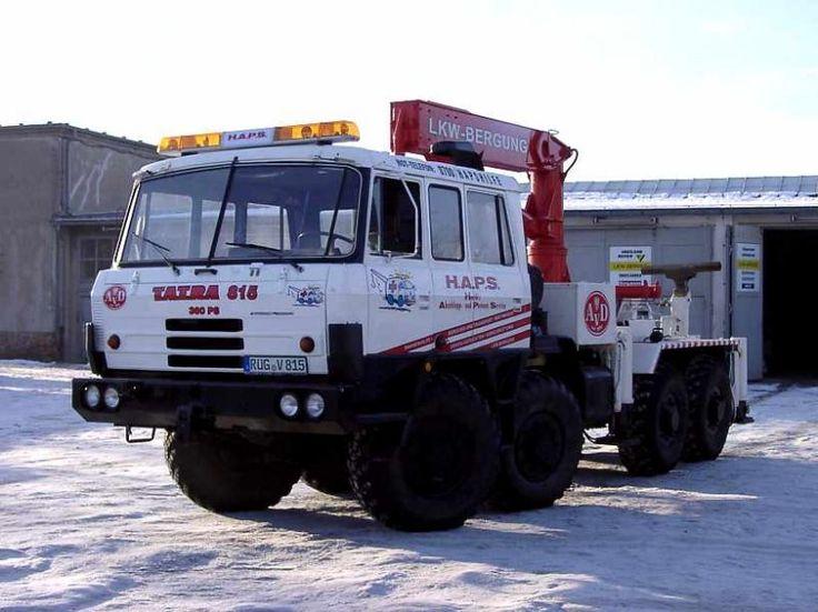 Tatra T815 wrecker truck