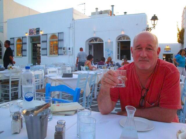 Restaurants in Paros, Greece
