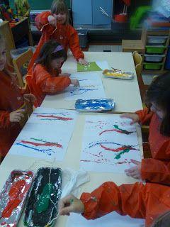 Schilderen met touw