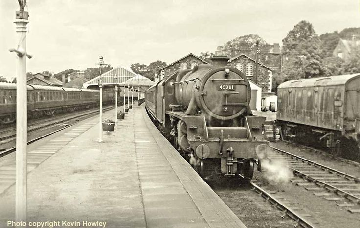 David Heys steam diesel photo collection - 04 - TRAIN SPOTTERS 1