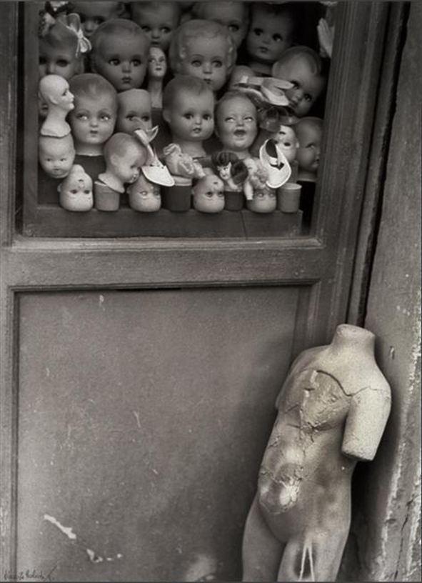 Vincenzo Balocchi - Mannequin et Têtes, ca. 1940