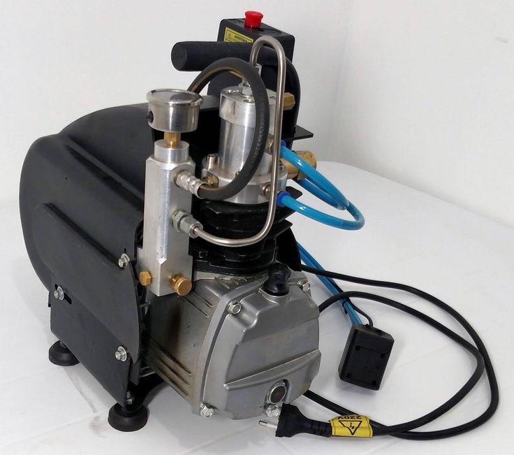 Compressor Portátil para PCP de 300 bar By Airrifle Co2brasil