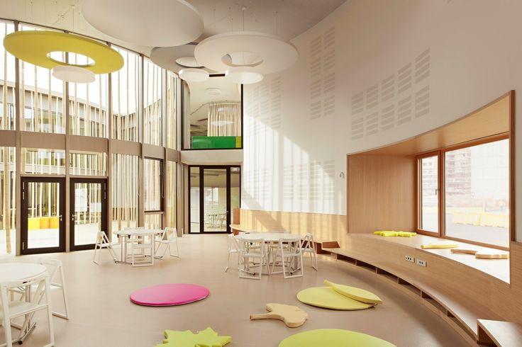 Детский сад и семейный центр Firmian в Италии — HQROOM
