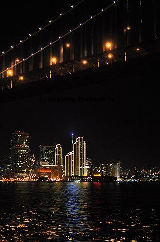 San Francisco Under the Bay Bridge